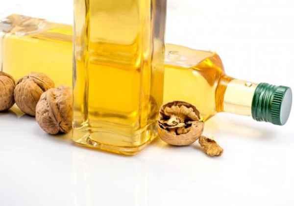aceite de nuez para el cabello
