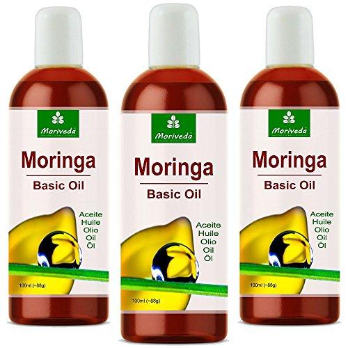 Moringa Aceite 300ml - Garantizado oleifera Himalaya calidad expansión de la presión fresca
